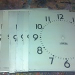 9/5-9/11-Metal Clock Faces