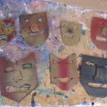 Japanese Masks- barter items for Lindero Canyon Middle School