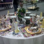 CReATE Birthday table display @ Designs for Heathy Living Expo