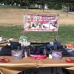 CReATE&#039;S booth at Bridges Community Fair 9/24